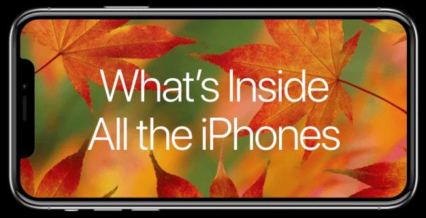 Zobacz, jak w środku zmieniał się iPhone