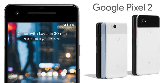 Google Pixel 2 i 2 XL (oficjalne zdjęcia)