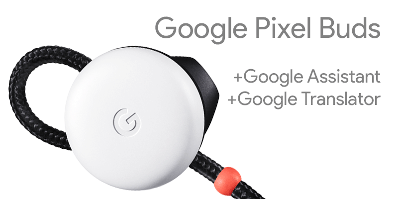 Słuchawki Google Pixel Buds