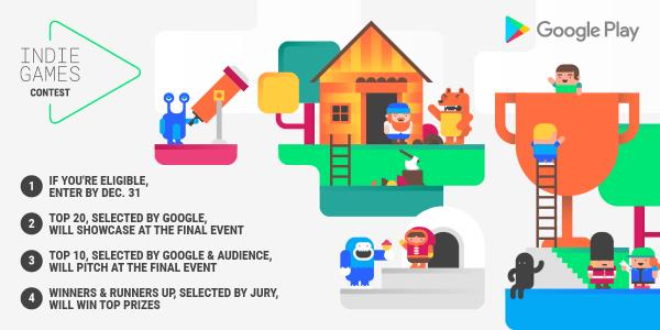 Konkurs dla twórców gier niezależnych w Google Play w Europie