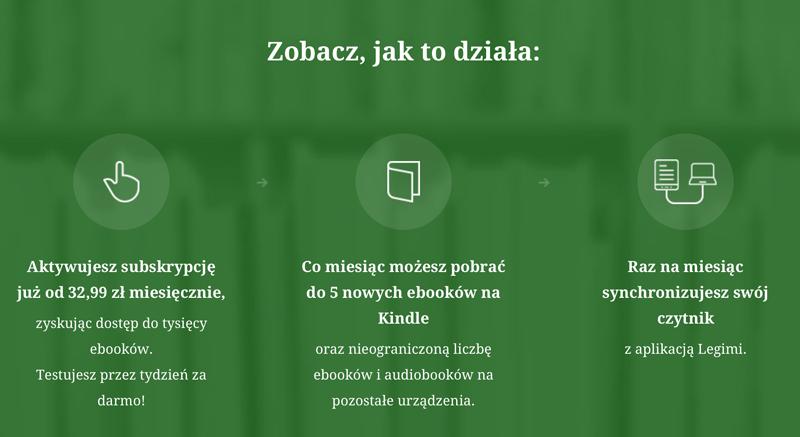 Jak korzystać z Legimi na Kindle'u?