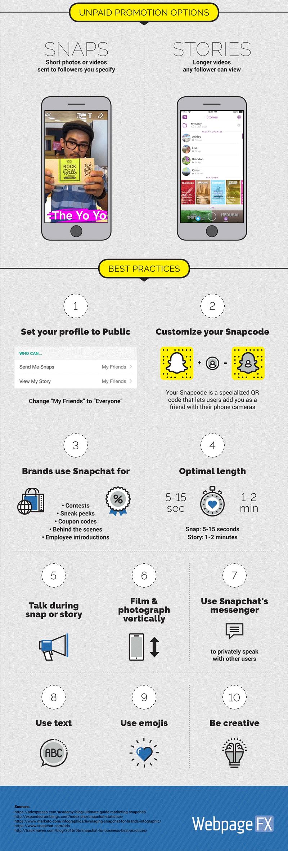 Jak promować produkty/markę na Snapchacie? - dobre praktyki