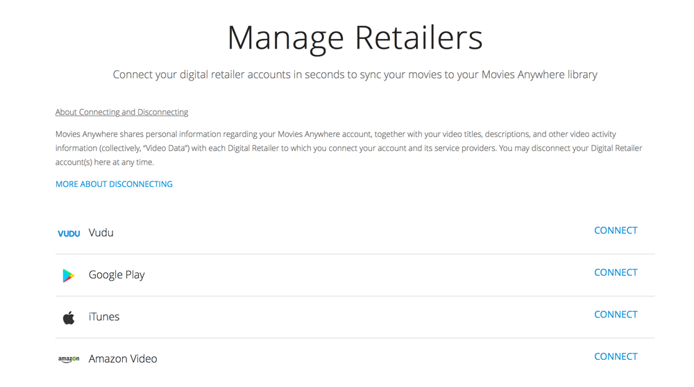 Manage Retailers