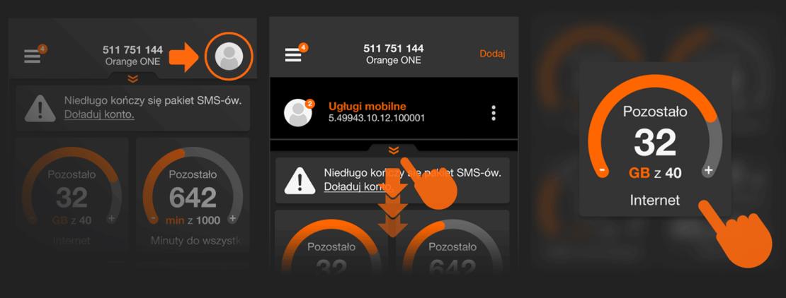 Nowe funkcje w aplikacji Mój Orange 4.0.2