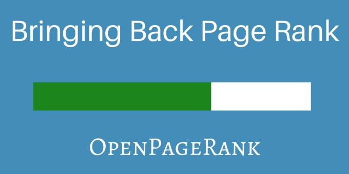 OpenPageRank - sprawdź PR strony WWW