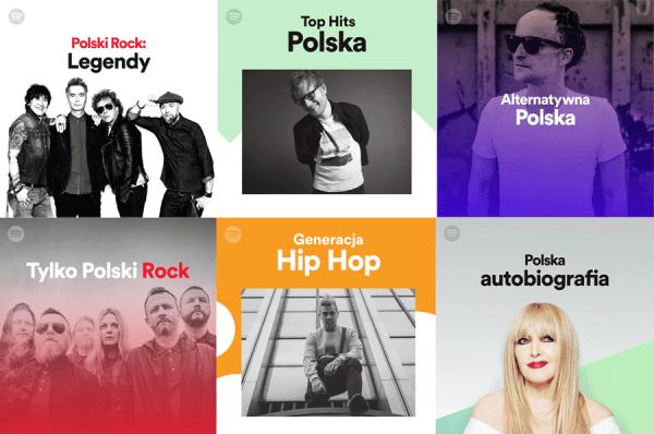 Aż 40 nowych polskich playlist na Spotify
