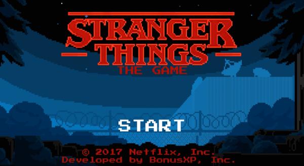 "Nowa gra mobilna na podstawie serialu ""Stranger Things"""