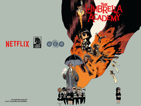 """The Umbrella Academy"" na Netflixie w 2018 roku"