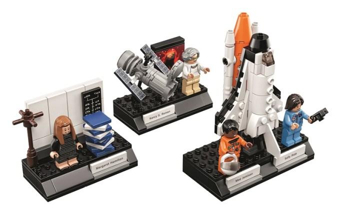Klocki i figurki LEGO z kobietami z NASA