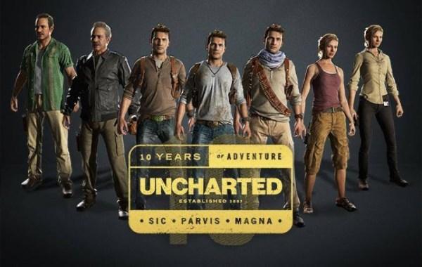 Noughty Dog świętuje 10-lecie gry Uncharted