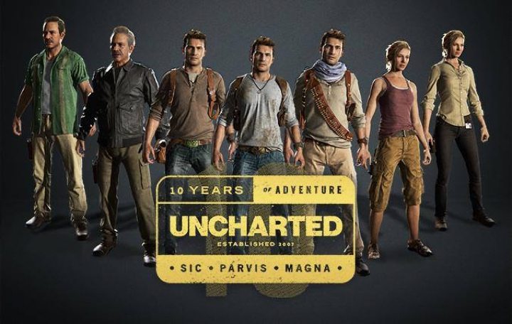 10-lecie gry Uncharted - bohaterowie