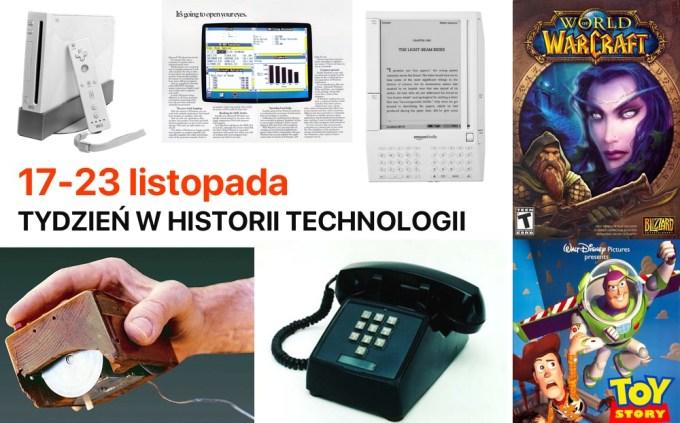 17-23 listopada: Tydzień w historii technologii