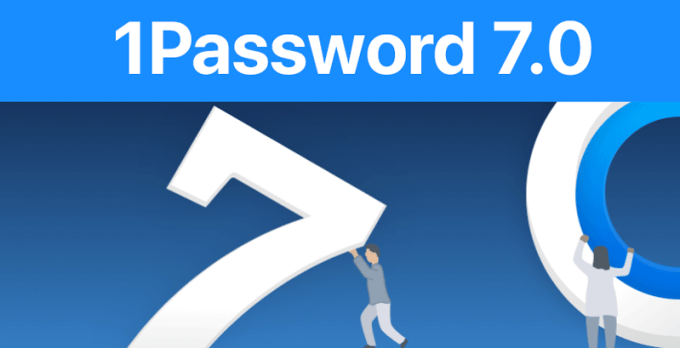 1Password 7.0 na iOS-a