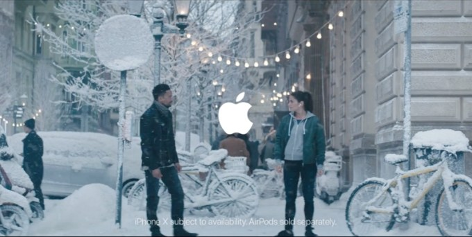 Reklama Apple z okazji Święta Dziękczynienia