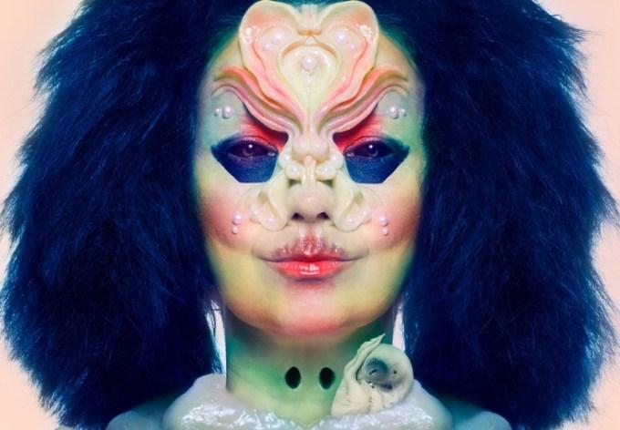 """Okładka płyty """"Utopia"""" od Björk"""
