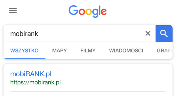 Google testuje nowy wygląd mobilnych wyników wyszukiwania