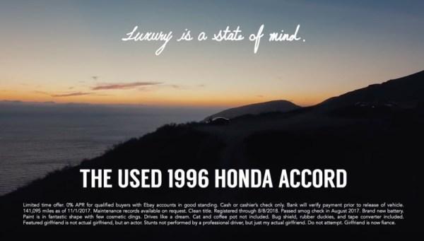 Oto, jak sprzedać Hondę Accord z 96 r. za ponad 100 tys. dolarów
