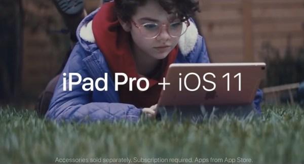 Apple promuje iPada tak, jakby był laptopem