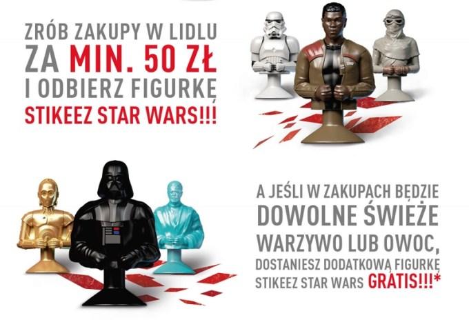 Jak odebrać figurki Star Wars w Lidlu?