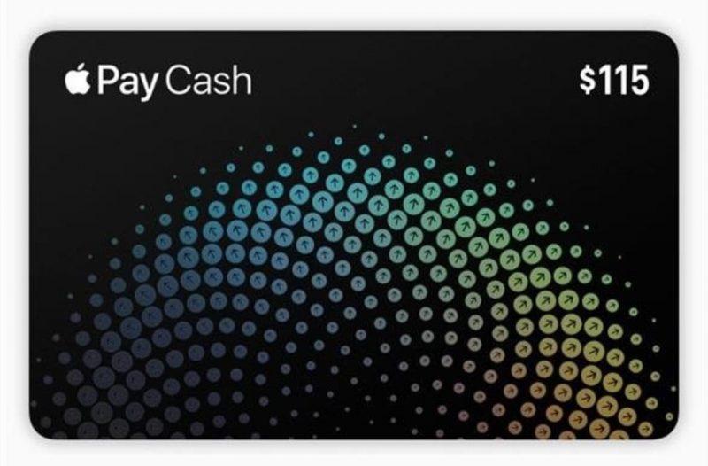 Karta Apple Pay Cash pod systemem iOS 11.2