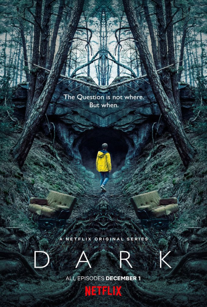 Plakat serialu DARK od Netflixa