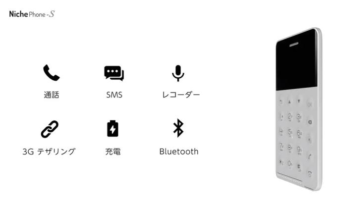 NichePhone-S - funkcje