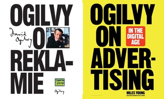 "Okładki książek: ""Ogilvy o reklamie"" oraz ""Ogilvy on Advertising in the Digital Age"""