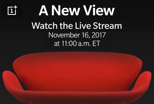 Transmisja online z prezentacji OnePlus 5T (16.11 o godz. 17.00)