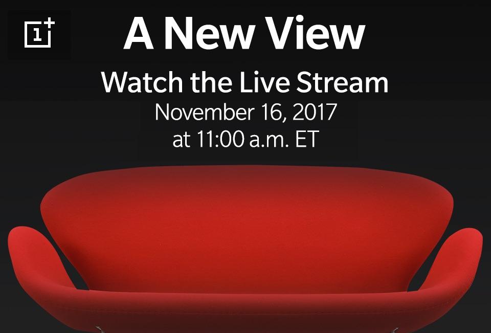 Jak oglądac transmisje online z prezentacji nowego OnePlus 5T?