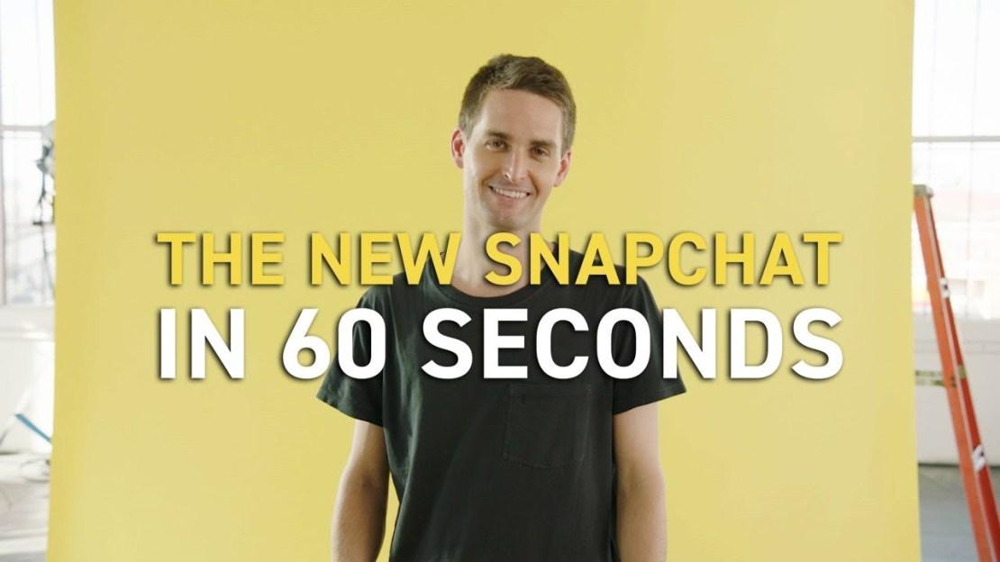 Przeprojektowany Snapchat w 60 sekund - Evan Spiegel