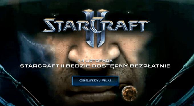 StarCraft II zostanie udostępniony bezpłatnie 14 listopada
