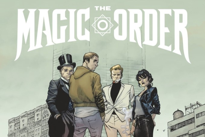 """The Magic Order"" - okładka komiksu Netflixa"