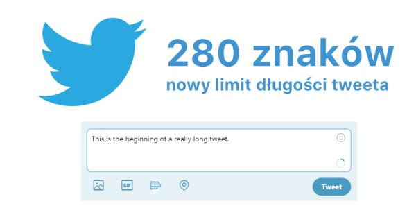 Twitter zwiększa wszystkim limit tweeta do 280 znaków