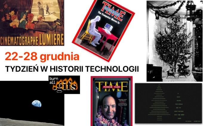 22-28 grudnia: Tydzień w historii technologii