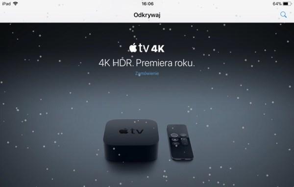 "Zimowy easter egg ""let it snow"" ❄️ w aplikacji Apple Store"