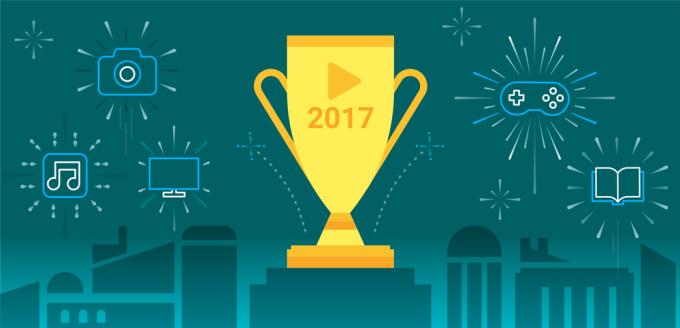 Best of 2017 aplikacji i gier mobilnych w sklepie Google Play