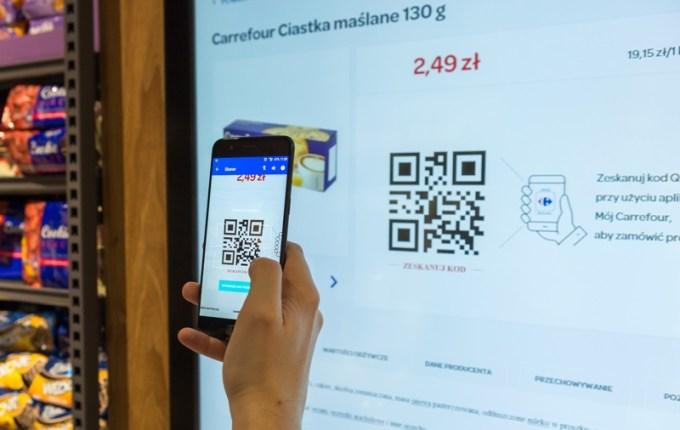Carrefour PRO - skanowanie zakupów smartfonem