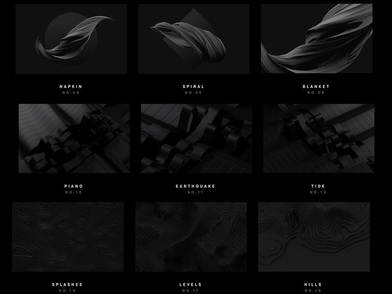 Ciemne tapety geometryczne