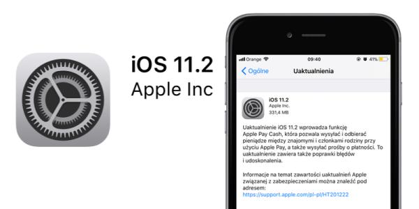 iOS 11.2 dostępny do pobrania – pełna lista nowości