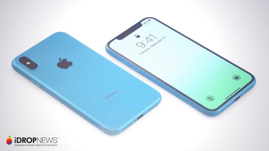 iPhone Xc - koncepcja Martina Hajka