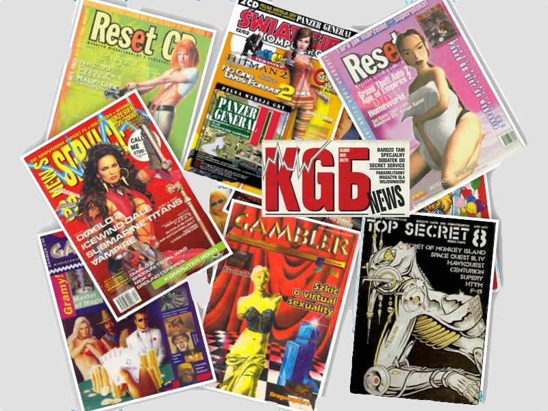 Magazyny o grach komputerowych wydawane w latach 90. w Polsce