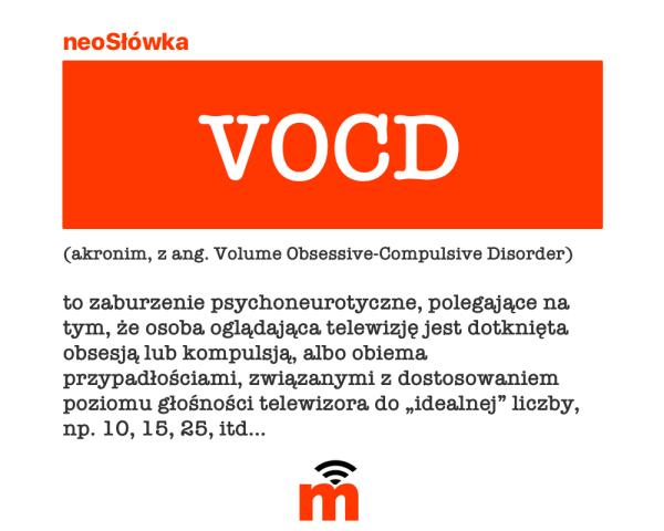 neoSłówka: VOCD, czyli obsesyjno-kompulsywne podgłaszanie