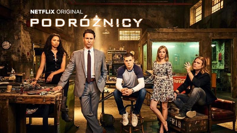 "2. sezon serialu ""Podróżnicy"" (""Travelers"") na Netflix"