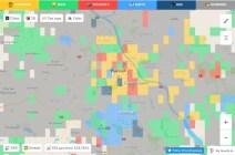 Warszawa - mapa Hoodmaps