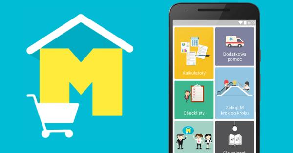 """Z aplikacją mobilną """"KupujeM"""" łatwiej kupisz mieszkanie!"""