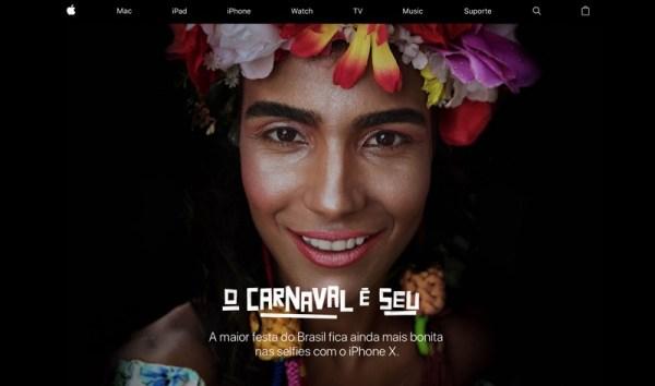 Oto, nowe reklamy iPhone'a X z okazji karnawału w Brazylii