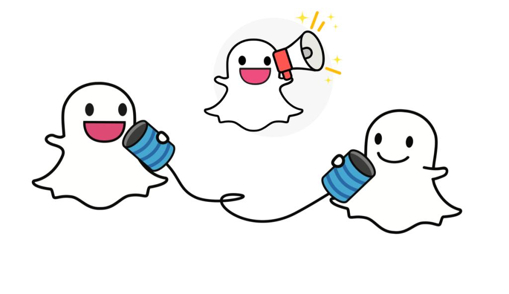 Snapchat umożliwia udostępnianie snapów w innych mediach społecznościowych