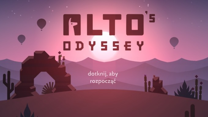 Alto's Odyssey (iPhone screen)