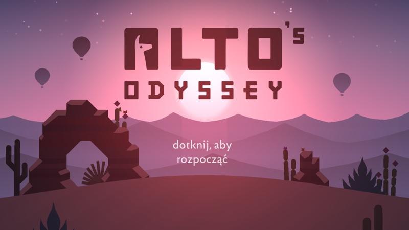 Alto's Odyssey (iPhone screen)