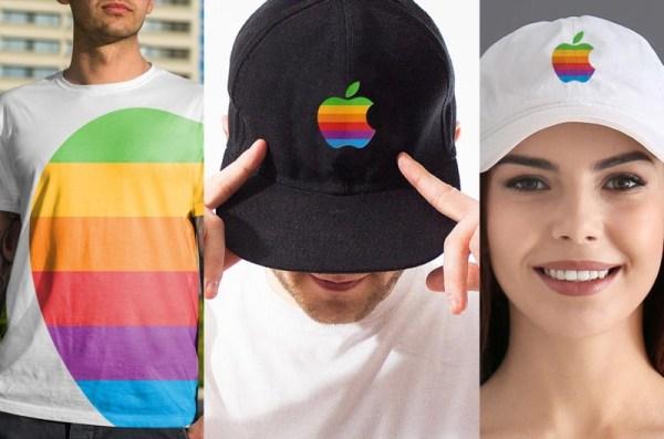 Apple zastrzega nowy znak towarowy z tęczowym logo